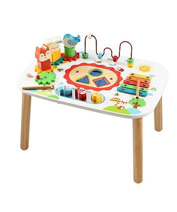 Early Learning Centre Wooden Activity Table