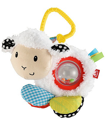 Early Learning Centre Blossom Farm Lily Lamb Spinning Rattle