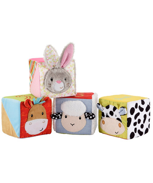 Early Learning Centre Blossom Farm Touch and Feel Cubes