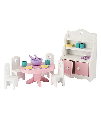 Early Learning Centre Rosebud dining room set