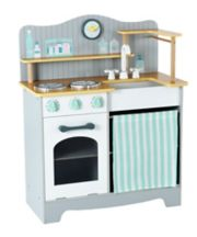 Early Learning Centre Wooden Classic Kitchen - Grey/Green