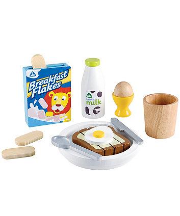 Early Learning Centre wooden breakfast set
