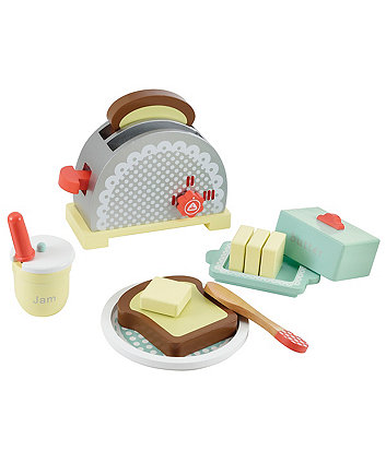 Early Learning Centre Wooden Toaster Set Grey