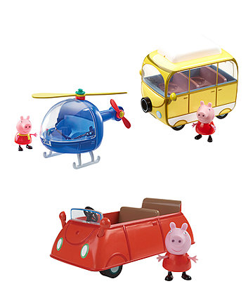 Peppa Pig Vehicles