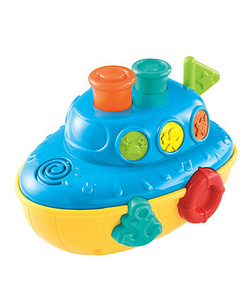 Early Learning Centre Lights And Sounds Bath Boat