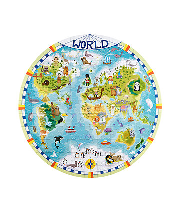 Early Learning Centre World Map Puzzle