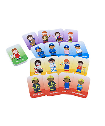 Early Learning Centre Happyland Happy Families Card Game