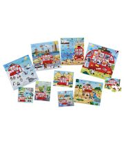 Early Learning Centre 10 In Box World Tour Bus Puzzles