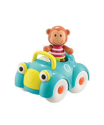 Early Learning Centre Toybox Monty Monkey And Motor Car