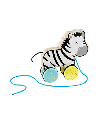 Early Learning Centre Wooden Pull Zebra