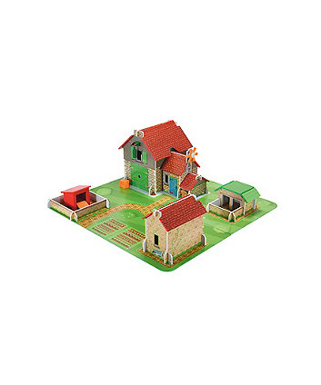 Early Learning Centre Wooden Classic Farm Playset