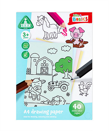 Early Learning Centre A4 Coloured Paper 40 Sheets