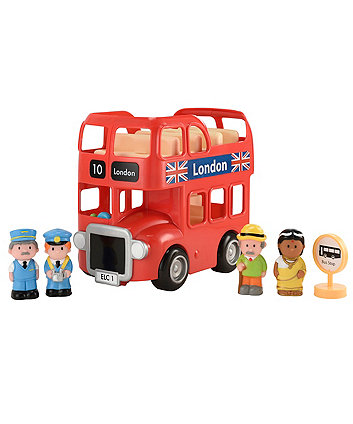 Early Learning Centre Happyland London Bus Set