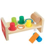 Early Learning Centre Wooden Hammer Bench