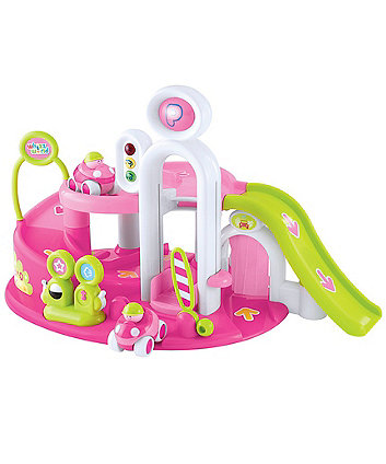 Early Learning Centre Whizz World Pink Lights And Sounds Garage