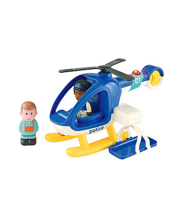 Early Learning Centre Happyland Lights And Sounds Police Helicopter