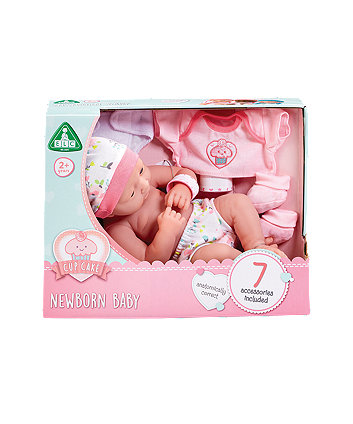 Early Learning Centre Cupcake Newborn Baby Girl Doll