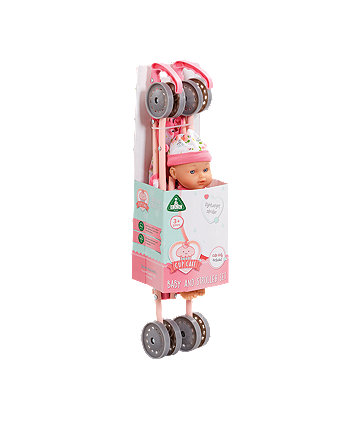 Early Learning Centre Cupcake Baby Doll And Stroller Set