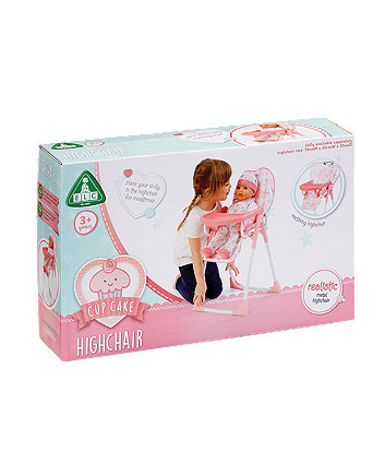 Early Learning Centre Cupcake Dolly Highchair