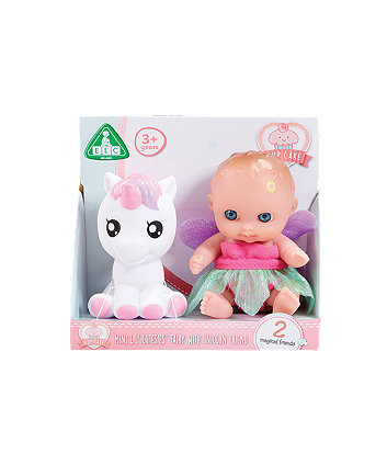 Early Learning Centre Cupcake Tiny Teenies Fairy Doll And Unicorn