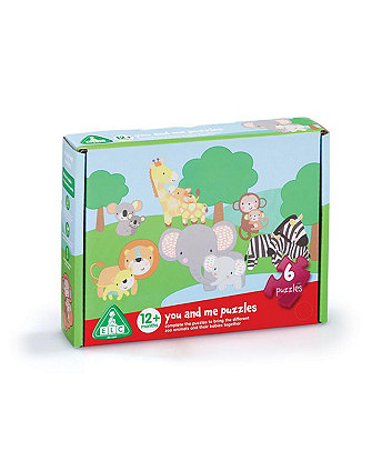 Early Learning Centre You And Me Animal Puzzles