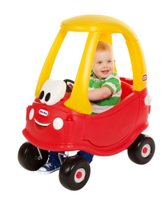 Little tikes 30th anniversary cosy coupe car little for Little tikes 2 in 1 buildin to learn motor workshop