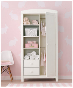 nursery wardrobes baby tallboys mothercare. Black Bedroom Furniture Sets. Home Design Ideas