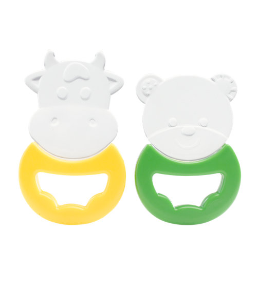 Mothercare Silicone Animal Teethers - 2 Pack