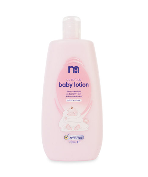 Mothercare As Soft As Baby Lotion - 500ml