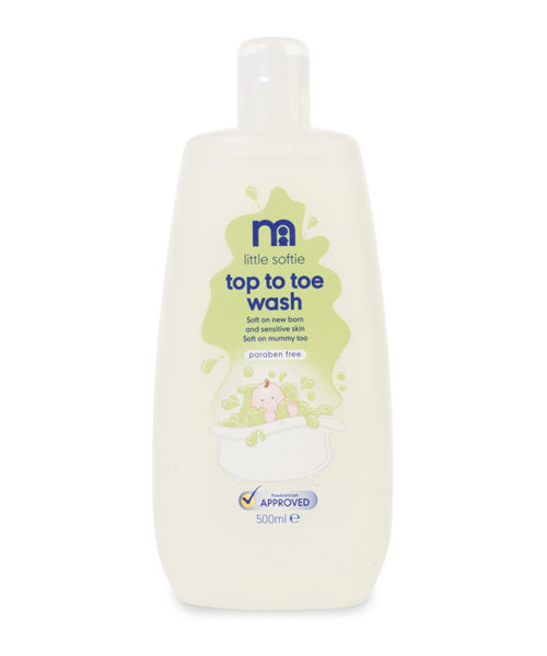 Mothercare Little Softie Top to Toe Wash- 500ml
