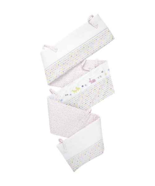 Mothercare Buttercup Bunny Long Cot Bumper