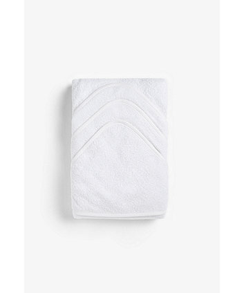 Mothercare Cuddle 'n' Dry Hooded Towels - White - 3 Pack
