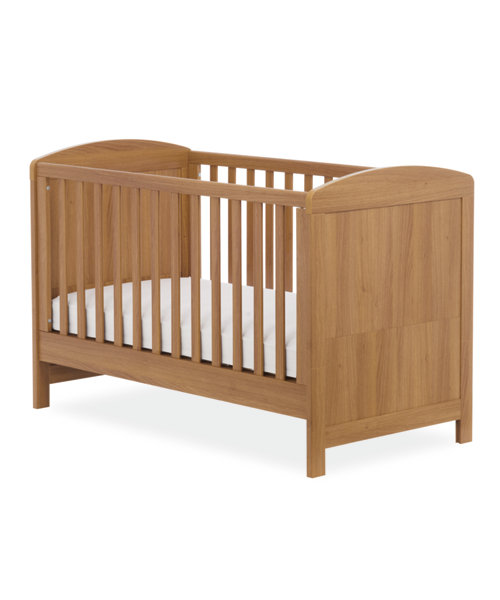 Mothercare Padstow Cot Bed - Oak Effect