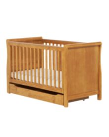 Mothercare Chiltern Sleigh Cot Bed - Antique