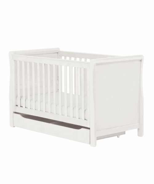 Mothercare Chiltern Sleigh Cot Bed - White