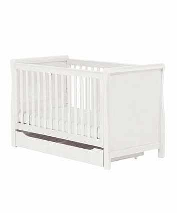 Mothercare Chiltern Sleigh Cotbed White