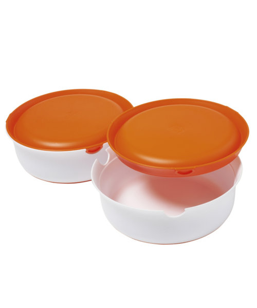 Mothercare Weaning Stage 2 Bowls and Lids - 2 Pack