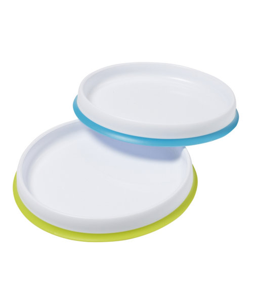 Mothercare Weaning Plates - 2 Pack