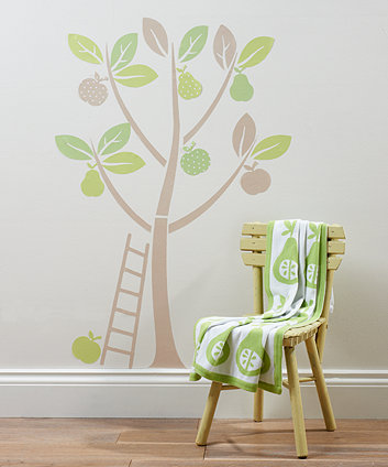 Mothercare Apples And Pears Wall Stickers