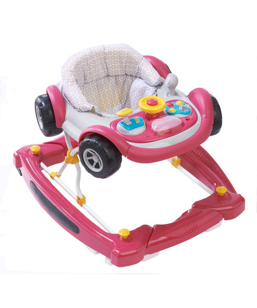 Mothercare 2 in 1 Car Walker -Purple