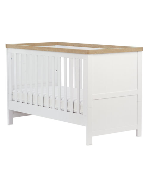 Mothercare Lulworth Cot Bed - White