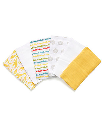 Mothercare Tusk Muslins - 6 Pack