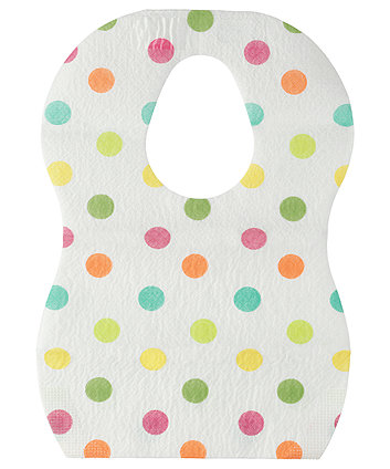 Mothercare Disposable Spot Bibs - 20 Pack
