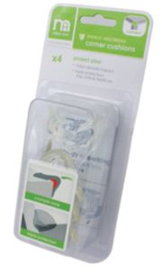 Mothercare Safest Start Protect Plus Energy Absorbing Corner Cushions- 4 Pack