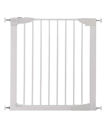 Mothercare Lindam Safest Start Auto Close Pressure Fit Safety Gate - White