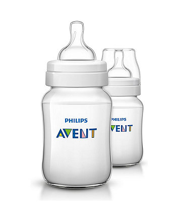 Philips Avent Scf563/27 Classic+ Feeding Bottle - 260Ml/9Oz Double