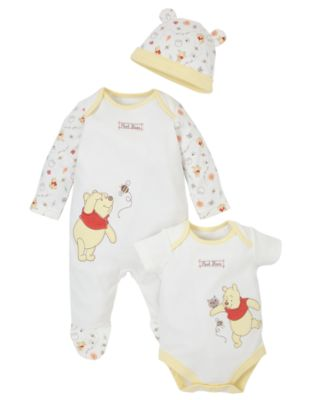 Winnie The Pooh Set 3 Piece co ordinated sets Mothercare