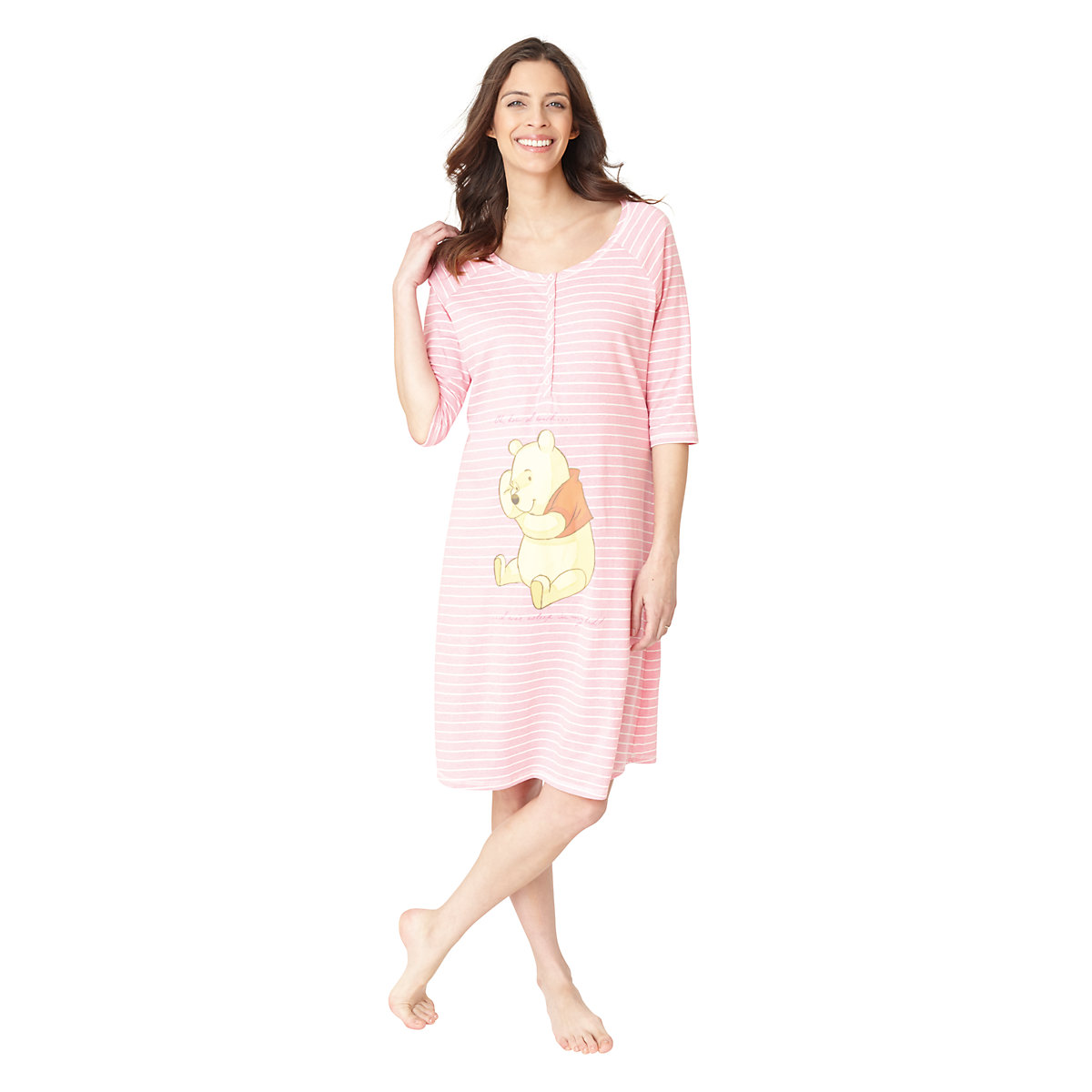 Blooming Marvellous Winnie The Pooh Maternity Nightdress