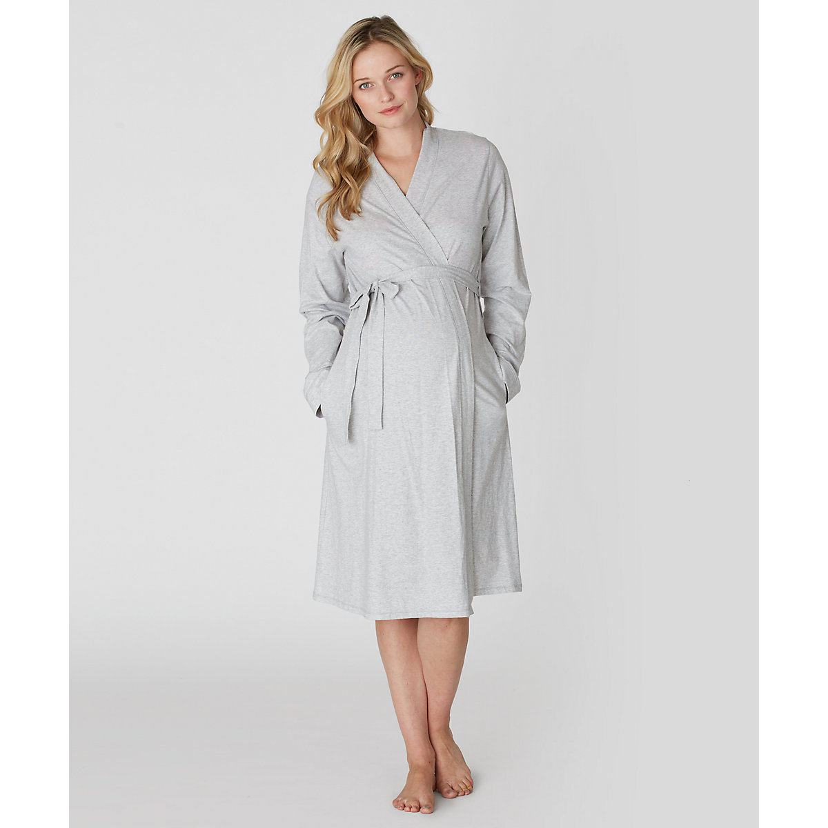 Blooming Marvellous Maternity Grey Marl Robe