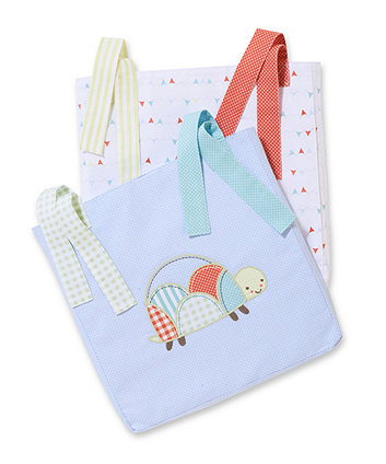 Mothercare Patchwork Graden Cot Pockets